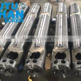 Double screw and barrel for Mikrason extruder machines