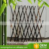 eco-friendly bamboo decorative flower garden fencing folding trellis