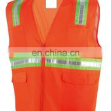 EN/ISO20471 Hi-Vis Safety Vest with Hi-Vis Reflective Tape