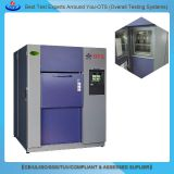 Compact Environmental ESS Test Chamber high low fast range temperatures 3-zone thermal shock chamber