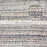 100 polyester micro polar fleece fabric, yarn dyed woven fabric