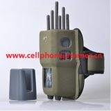 Handheld 6 Bands All CellPhone and WIFI Signal Jammer with Nylon Case