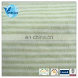 Cotton Yarn Dyed Stripe Interlock Knitted Fabric 2015