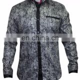 Black Party Wear Shirt