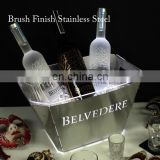 Plastic Lighted Promotional LED Ice Bucket