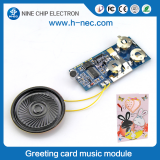USB Recordable Music module for greeting card sound module