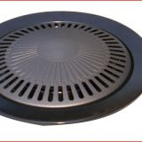 Made of quality aluminum or iron grill plate use for BBQ