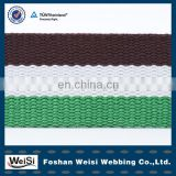 Foshan Factory Weisi Fashion Cotton Elastic Webbing For Belt
