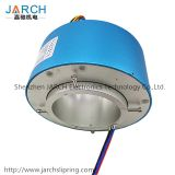 Shenzhen JARCH Electromechanical Through Bore Slip Ring 110mm,14 circuits, 20A Hollow Slip Ring