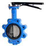 one stem no pin lug butterfly valve дроссельный клапан