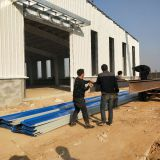 famous steel prefab welding steel structure workshop