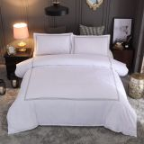 Hotel Bedding Set Queen/King Size White Color Embroidered Duvet Cover Sets Hotel Bed Linen Set Bedding Pillowcase