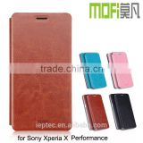 MOFi Case for Snoy Xperia X Performance , Flip PU Leather Cover for Snoy Xperia X Performance Case
