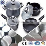 1000series metal circles aluminium alloy cookware
