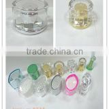 plastic tube for packaging with new style acrylic cap
