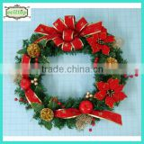 cheap direct factory artificial christmas wreath