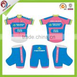 china factory custom sublimated cycling wear for woman, New Style Cycle Wear for Women