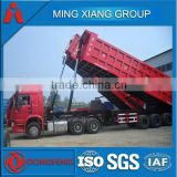 2015 best quality tri axle dump trailer rear dump trailer