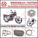 ITALIKA FT150 Motorcycle spare parts of disc brake plate