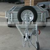 7*4 hot-dipped galvanized box trailer