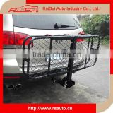 Factory Supply Excellent material steel basket folding cargo carrier