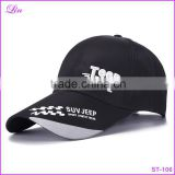 black high quality Snapback summer Simple Solid Hats Golf Sports Baseball Cap