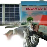 Solar Panel 12w , Battery 7ah Solar Charger Small Easy Take Solar Power System for houme use