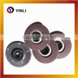 "4"" 4.5 "" 5"" 7"" 9"" 100 125 T27 29 abrasive flap discs for angle grinder wood metal"