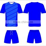 custom designed polyester quick-dry soccer jersey uniform in sublimation for wholesale