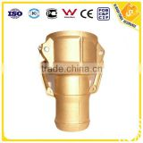 Fire hose Brass camlock coupling Type C coupling male female quick coupling