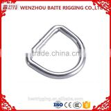 China Supplier Steel Galvanized Hardware D ring Rigging Hardware Professional Manufacturer Cheap