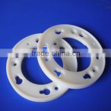 wholesale manufacturer CNC machining PE plastic ring white uhmwpe part                                                                         Quality Choice