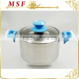 heat proof silicone paint bakelite handles stainless steel casserole dish induction bottom