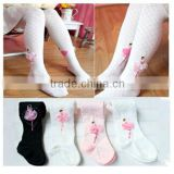 Cute princess durable dance cotton ballet tights, white ballet tube tights pantyhose