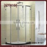 prefab homes flexible shower enclosure/prefabricated circular shower enclosures DMS-R107