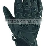 Cowhide aniline leather Motorbike Gloves