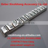 lead adhesive balance weight motorcycle-chrome coated