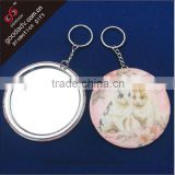 Top sale OEM tinplate durable design cheap small cosmetic mirror/gift Mirror