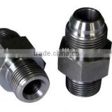 Flare fittings JIC 7/16-20 pipe fitting,air conditioner flare nut precision mold parts flare nipple, Factory supply