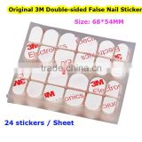 2015 New Design Party Gift Double Side Original 3M False Nail Sticker for Nail Tips Popular 3M Gel Sticky Nail Tips with 3M Logo