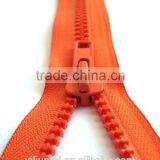 All size all length all types of high quality of plastic derlin zipper resin zipper