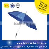 Aluminum Shaft EVA Handle Pongee Straight Golf Umbrella