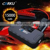 Carku brand auto eps jump starter power king with LCD displayer 15000mAh powerall jump starter