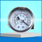 1.5 inch water pump pressure gauge for vacuum pressure -0.1 to 0 bar with bracket                                                                         Quality Choice
