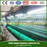 HDPE building windbreak fence mesh/ HDPE fence netting for wind and dust control