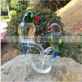 western New design crystal lover birds model for wedding and business gift