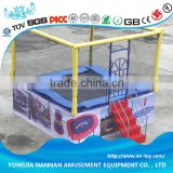 Small outdoor trampoline equipment