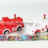 Candy toy,firefighting truck water gun, promotion gift
