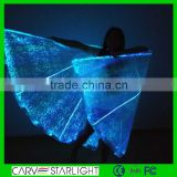 fiber optic luminous led light fairy wing stage dance props for sale                                                                         Quality Choice