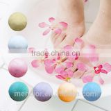 Mendior mini Foot bath fizzy/bombs natural essence oil bath salt relax home funny OEM 30 g to 100 g